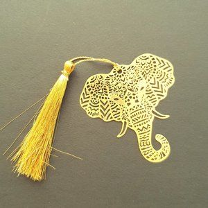 Other - Bookmark Indian Design- metal cutting- Elephant